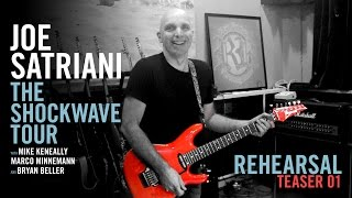 Joe Satriani - 新譜「Shockwave Supernova」Tour Rehearsal Teaser #1を公開 thm Music info Clip