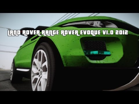 Land Rover Range Rover Evoque v1.0 2012