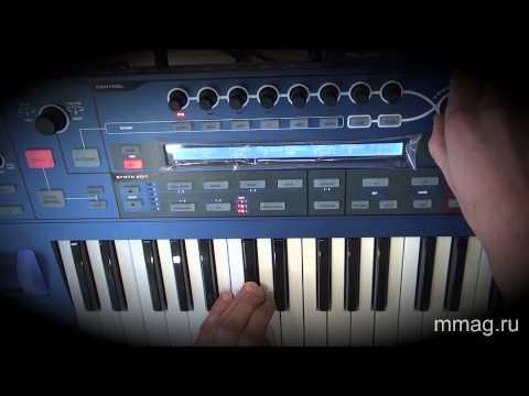 mmag.ru: синтезатор Novation Ultranova - видео обзор и демо