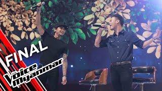 Team R Zarni: Fool Again / ဂႏၱဝင္ဆည္းဆာ (Westlife / R Zarni) | Final - The Voice Myanmar 2019