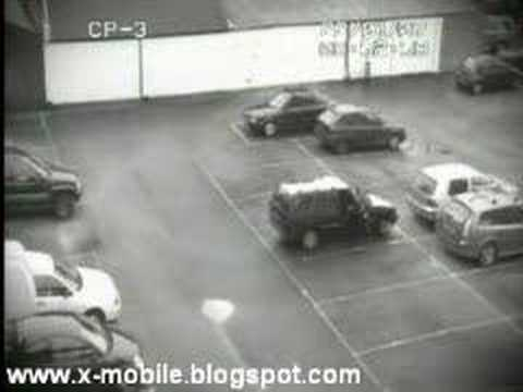 Unbelievable Car Park Accident