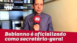 Bebianno é oficializado como secretário-geral da transição de Governo