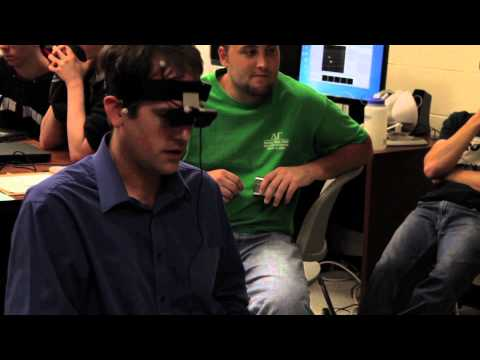 Virtual Reality Quadrocopter Project w/ Kinect Hack