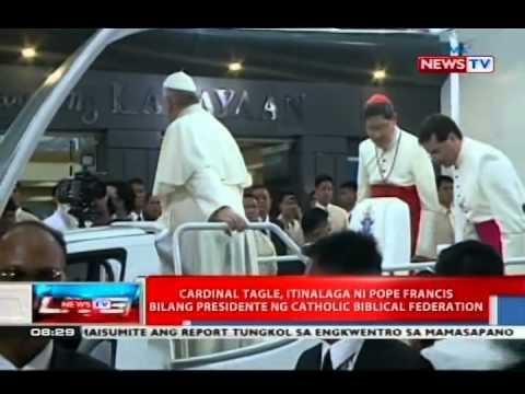 NTVL: Cardinal Tagle, itinalaga ni Pope Francis bilang presidente ng Catholic Biblical Federation
