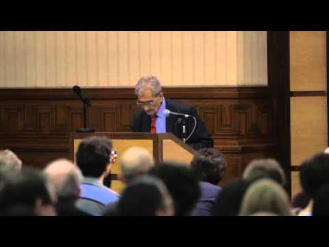 Amartya Sen, 'Justice and the Idea of Objectivity' (Annual Lecture, 2015)