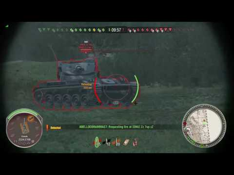 World of Tanks Xbox one E100 Mid-air shot