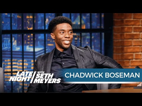 Chadwick Boseman on Playing Black Panther in Captain America: Civil War