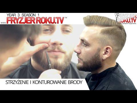 Strzyżenie I Konturowanie Brody. Jak Dbać O Brodę? ♛ FryzjerRoku.TV