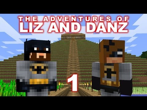Adventures of Liz and Danz Pt1 (Minecraft)