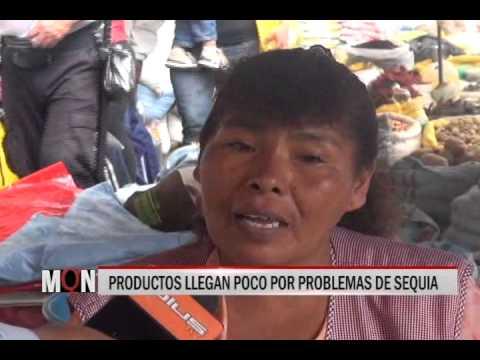 16/12/2014-18:53 PRODUCTOS LLEGAN POCO POR PROBLEMAS DE SEQUIA