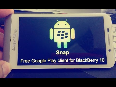 How to install Android Appstores on Blackberry Z10/Q10/Z30/Q5/Z3 (Snap.amazon.1mobile appstore.apto)