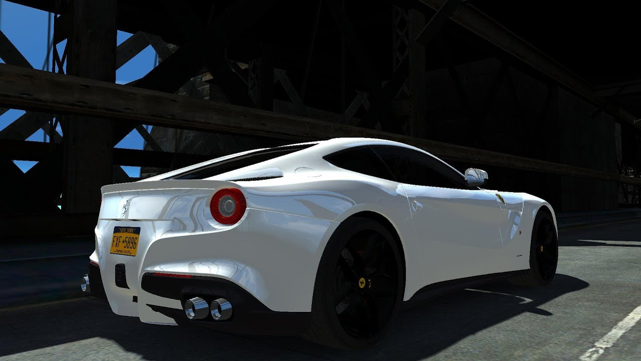 Gta Iv 2013 Ferrari F12 Berlinetta And 2012 Lamborghini Gallardo Spyder Lp570 4 Crash Testing Hd