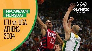 Lithuania v USA - Bronze Medal Match | Athens 2004 - Condensed Game | Throwback Thursday