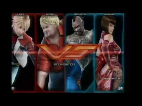 Tekken Tag 2 TT2 Location Test | Leo, Bob, Armor King, Jun, Asuka, Lili, Bryan, Wang, Law, Jinpachi