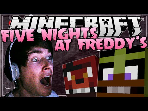 FIVE NIGHTS AT FREDDY'S   INSANE Jumpscares!   Minecraft