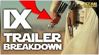 TRAILER BREAKDOWN | Star Wars Episode IX The Rise Of Skywalker Teaser Trailer
