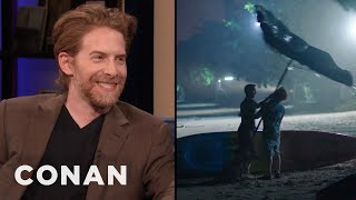 "Seth Green Shares An Outtake From ""Changeland"" - CONAN on TBS"