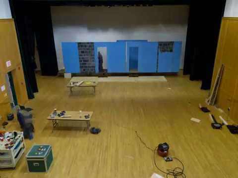 Our Town Theatre Group's Set Build of Vanya and So
