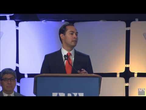 HUD Secretary Julian Castro - APA National Planning Conference 2015