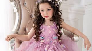 Latest Small Children's Modern Clothing Kids Dresses Collection Picture