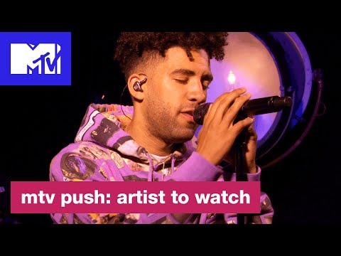 """Kyle Performs Kid Cudis """"The Pursuit of Happiness""""  Push: Artist to Watch  MTV"""