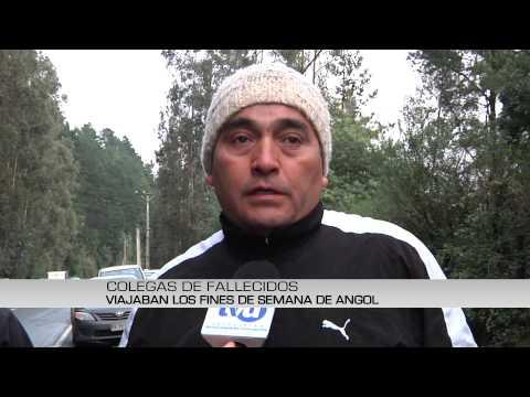 Tres personas fallecieron en accidente automovilístico en Ruta de la Madera