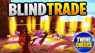 CRAZY BLIND TRADING w/Twine Cheeks *All 130s* Fortnite Save The World