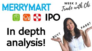 MERRYMART IPO IN DEPTH ANALYSIS | Fundamental, Financial and Valuations | To buy or not?