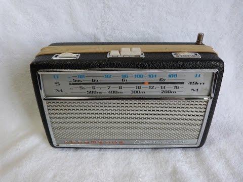1965 Nordmende Stradella 49M transistor radio (W. Germany)