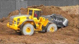 COOL RC CONSTRUCTION ZONE! FANTASTIC AND HEAVY RC MACHINES AT WORK! BIG SELF MADE RC TOYS!