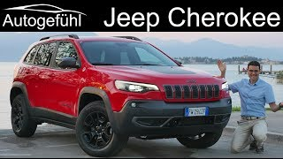 Jeep Cherokee FULL REVIEW Trailhawk vs Overland comparison with new 2.0 T-GDI petrol