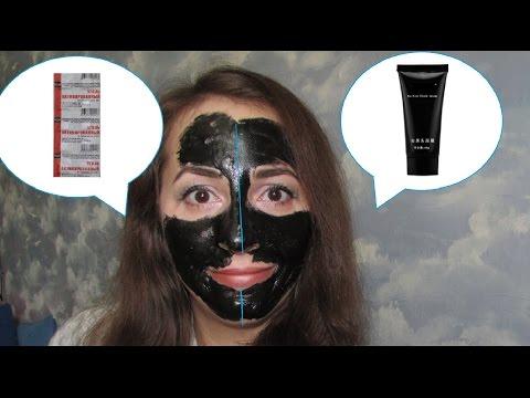 Черная маска на лицо своими руками 736