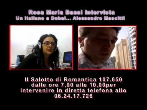 Il Salotto di Romantica...Un Italiano a Dubai