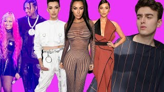 Reacting to People's Choice Awards 2018 Fashion (nicki disappointed & james charles' couture)