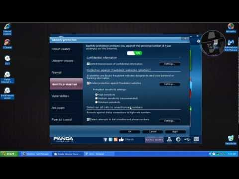 Panda Internet Security 2013 - Test with more links