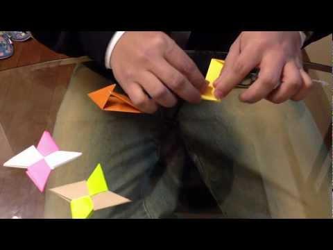 Estrella ninja origami - Figuras de papel