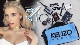 What's In My Travel Bag + Travel Tips