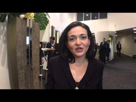 Davos 2015: Sheryl Sandberg on connecting the missing 60%