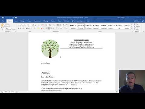 How to create those year-end donor letters in QuickBooks