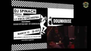 NYC Ska Orchestra @ Downhouse, Brooklyn NYC 03.12.2016