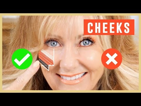CHEEKS   Makeup Techniques For Women Over 50!