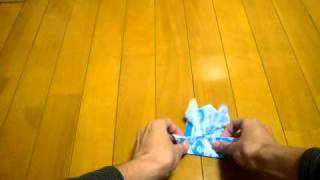origami a Jumping Frog