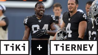 The Raiders Are Gutless For Allowing Antonio Brown To Play | Tiki + Tierney
