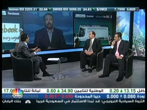 Interview with Asem Galal on CNBC Arabia 19 February 2011 on Social Media & Arab Revolutions
