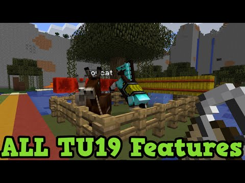 Minecraft Xbox 360 + PS3: ALL Features in TU19 (New Blocks. Mobs. Items)