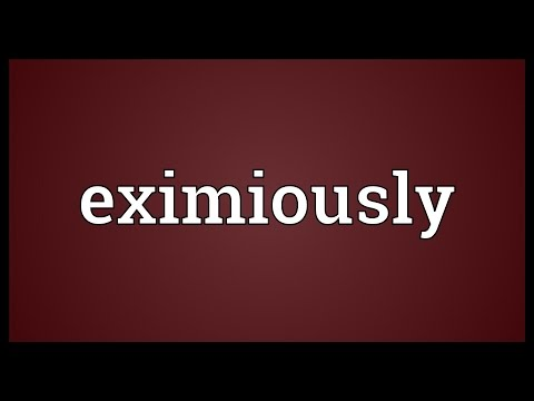 Header of eximiously