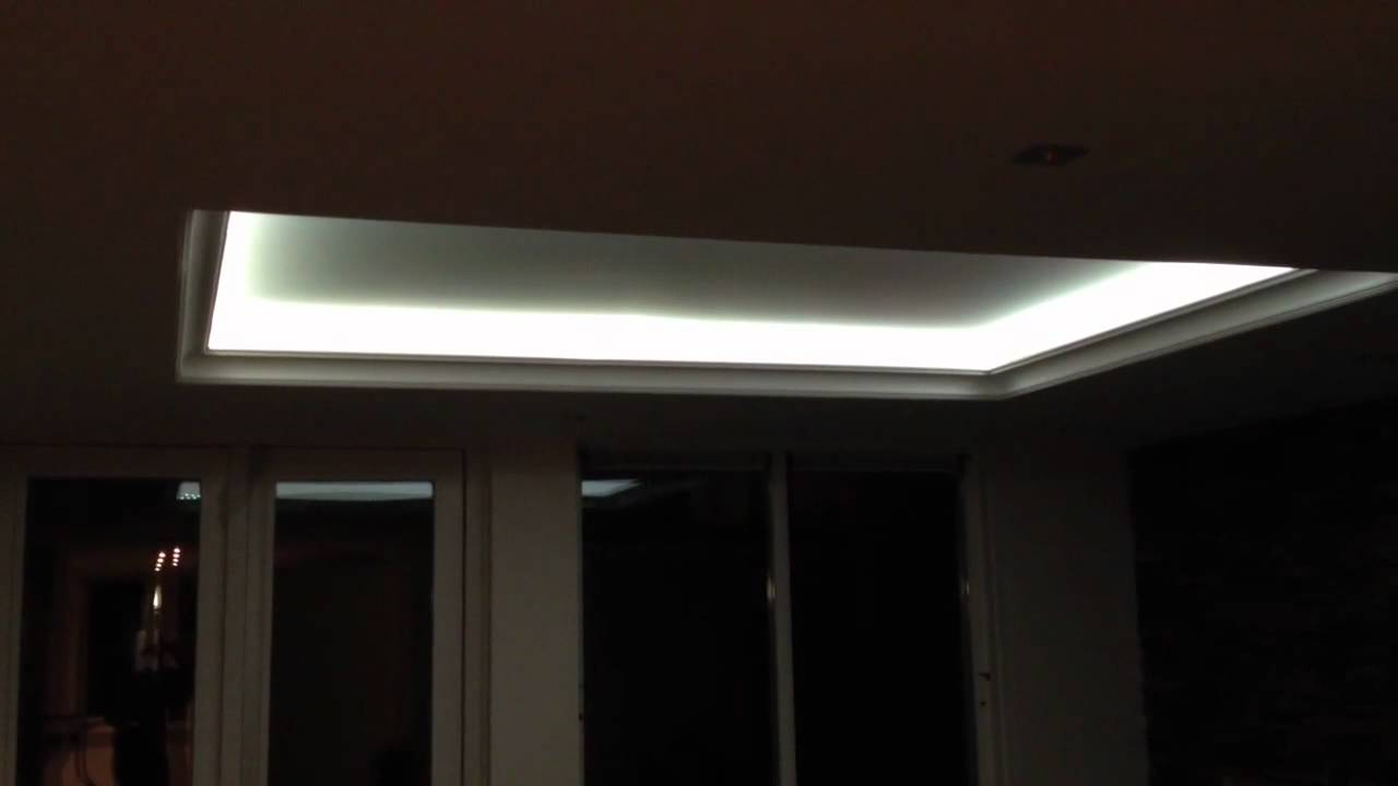 Ledverlichting plafond rgb - YouTube