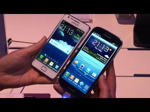 Samsung Galaxy S3 vs Samsung Galaxy S2: Test
