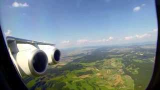 ✈ Warsaw to Zurich on a Swiss Avro 100  BAE 146