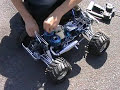 my custom build twin engine rc monster truck